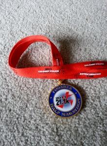 Policeman half medal