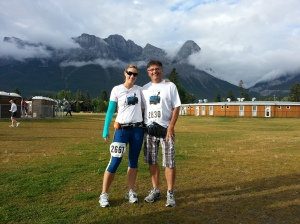 canmore start line