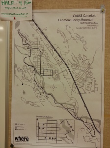 canmore half map