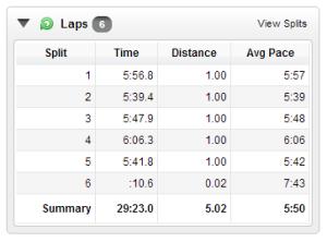 Jan 5, 2014 run
